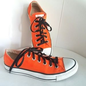 Chuck Taylor All Star Orange Rind Low Tops